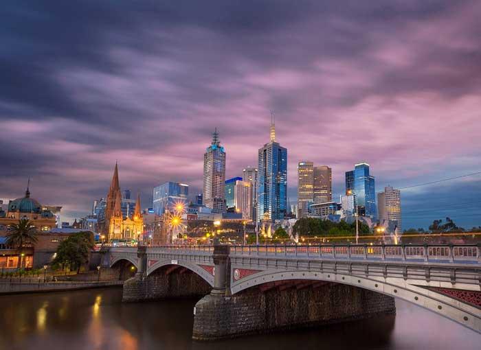 Melbourne e il Victoria