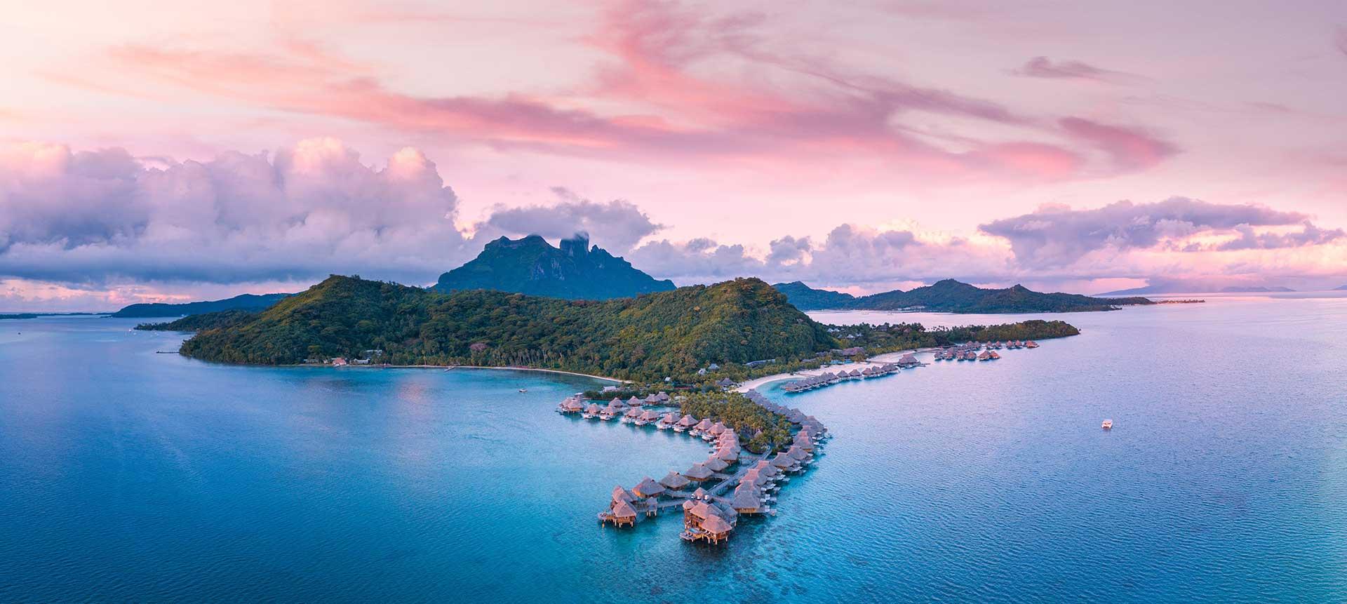 New York e Bora Bora