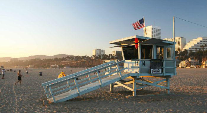 Los Angeles spiagge